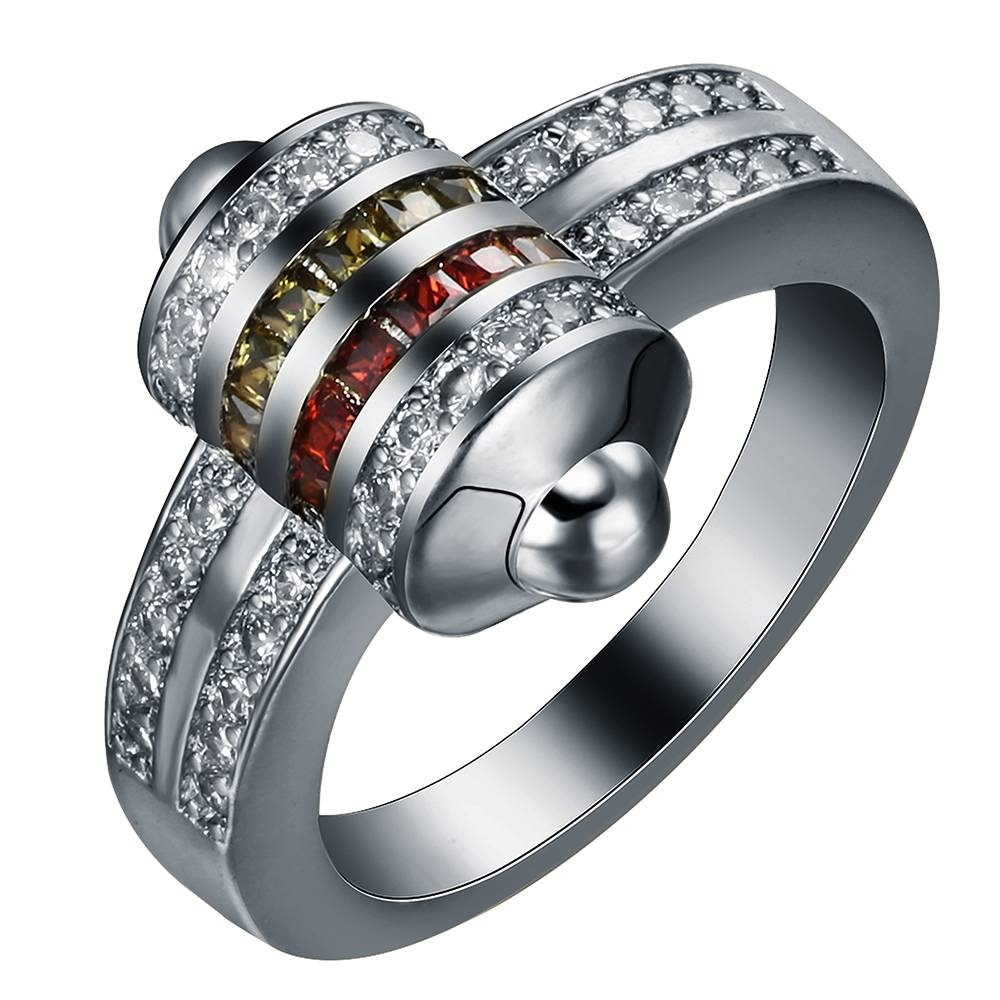 Popular Bullet Ring Jewelry Buy Cheap Bullet Ring Jewelry Lots For Mens Bullet Wedding Bands (View 12 of 15)