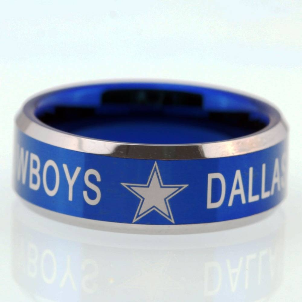 Popular Cowboy Wedding Rings Buy Cheap Cowboy Wedding Rings Lots In Dallas Cowboys Wedding Bands (View 11 of 15)