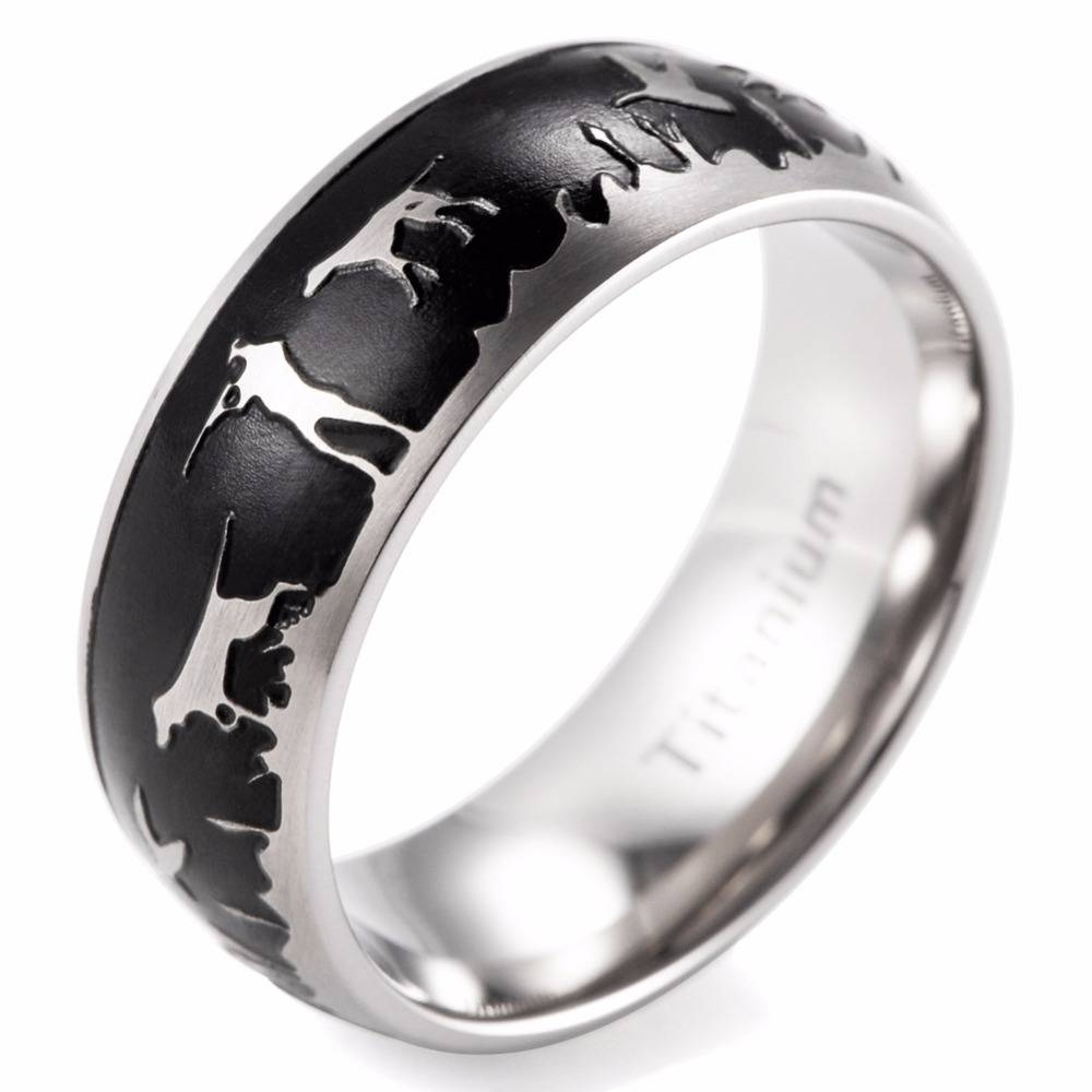 Popular Duck Wedding Band Buy Cheap Duck Wedding Band Lots From Within Duck Hunting Wedding Bands (View 2 of 15)