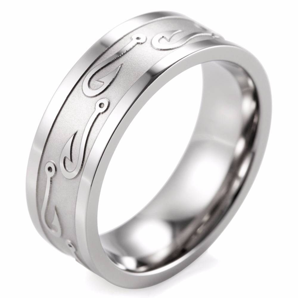 Popular Fish Wedding Ring Buy Cheap Fish Wedding Ring Lots From Intended For Fish Hook Wedding Rings (View 14 of 15)