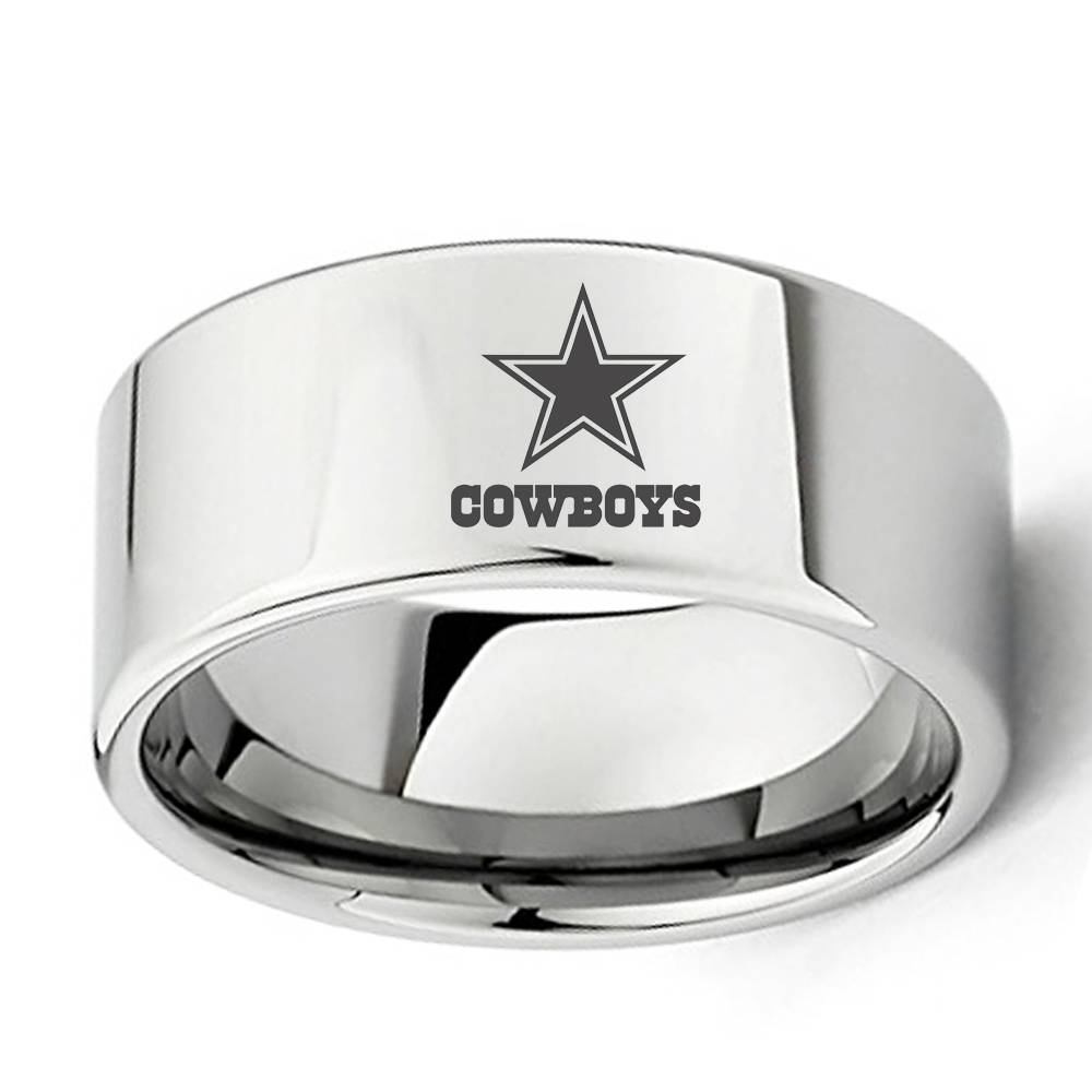 Popular Football Dallas Cowboys Buy Cheap Football Dallas Cowboys For Dallas Cowboys Wedding Bands (Gallery 15 of 15)