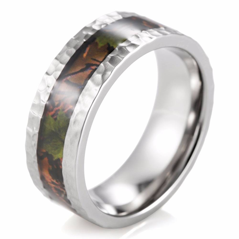 Popular Hammered Wedding Band Buy Cheap Hammered Wedding Band Lots For Hammered Tungsten Men's Wedding Bands (View 11 of 15)