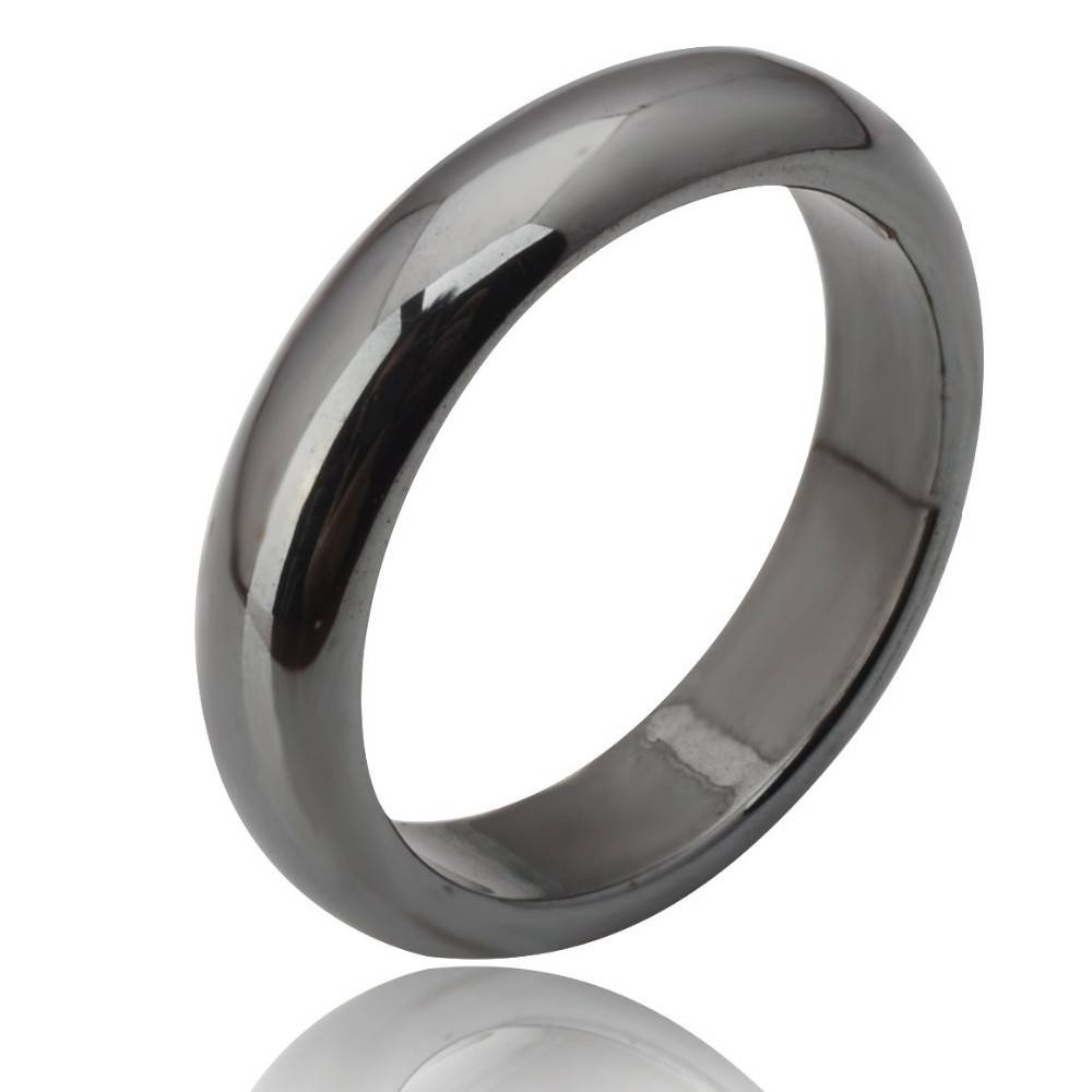 Featured Photo of Hematite Wedding Bands