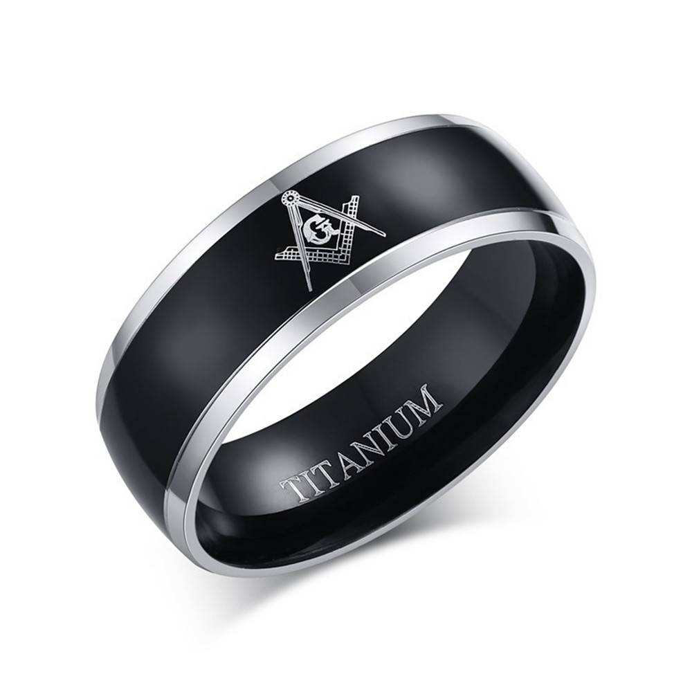 Popular Masonic Wedding Rings Buy Cheap Masonic Wedding Rings Lots Throughout Masonic Wedding Bands (View 13 of 15)