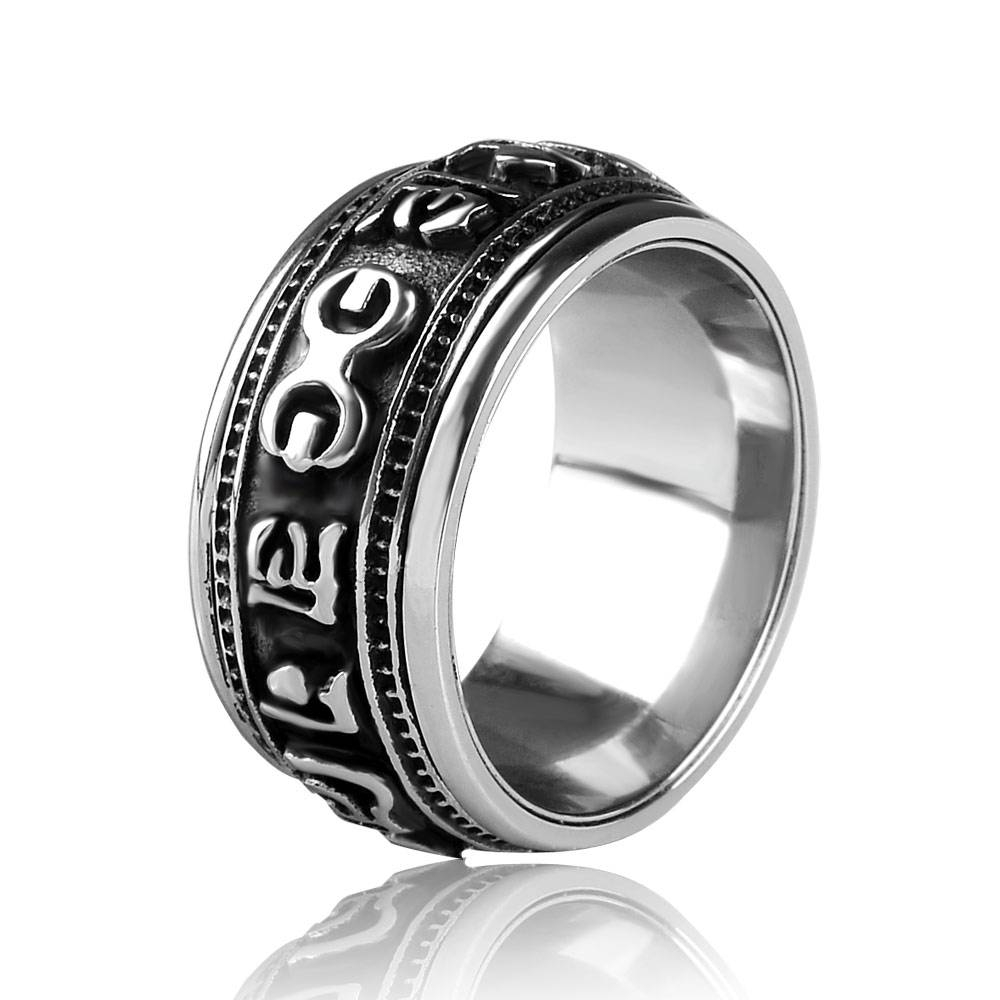 Popular Spinning Ring Jewelry Buy Cheap Spinning Ring Jewelry Lots Pertaining To Men's Spinning Wedding Bands (View 13 of 15)