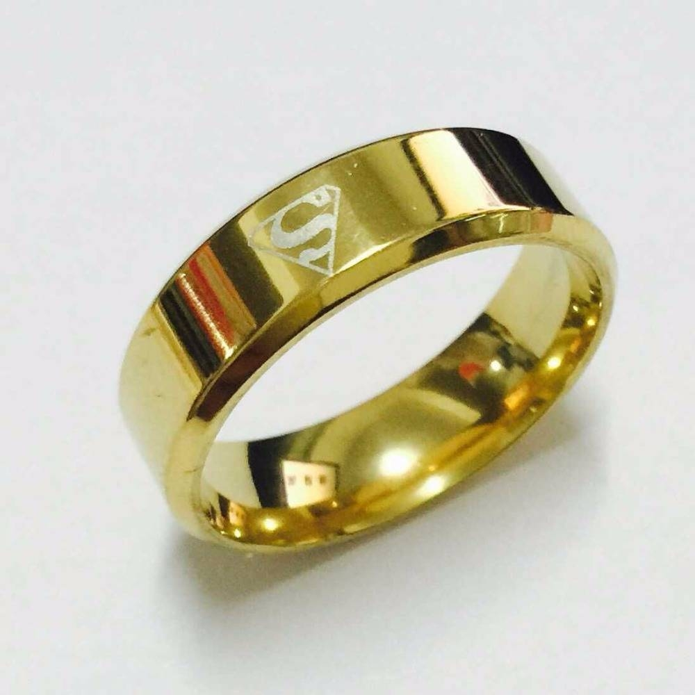 Popular Titanium Superhero Wedding Bands Buy Cheap Titanium Within Superhero Wedding Bands (Gallery 3 of 15)