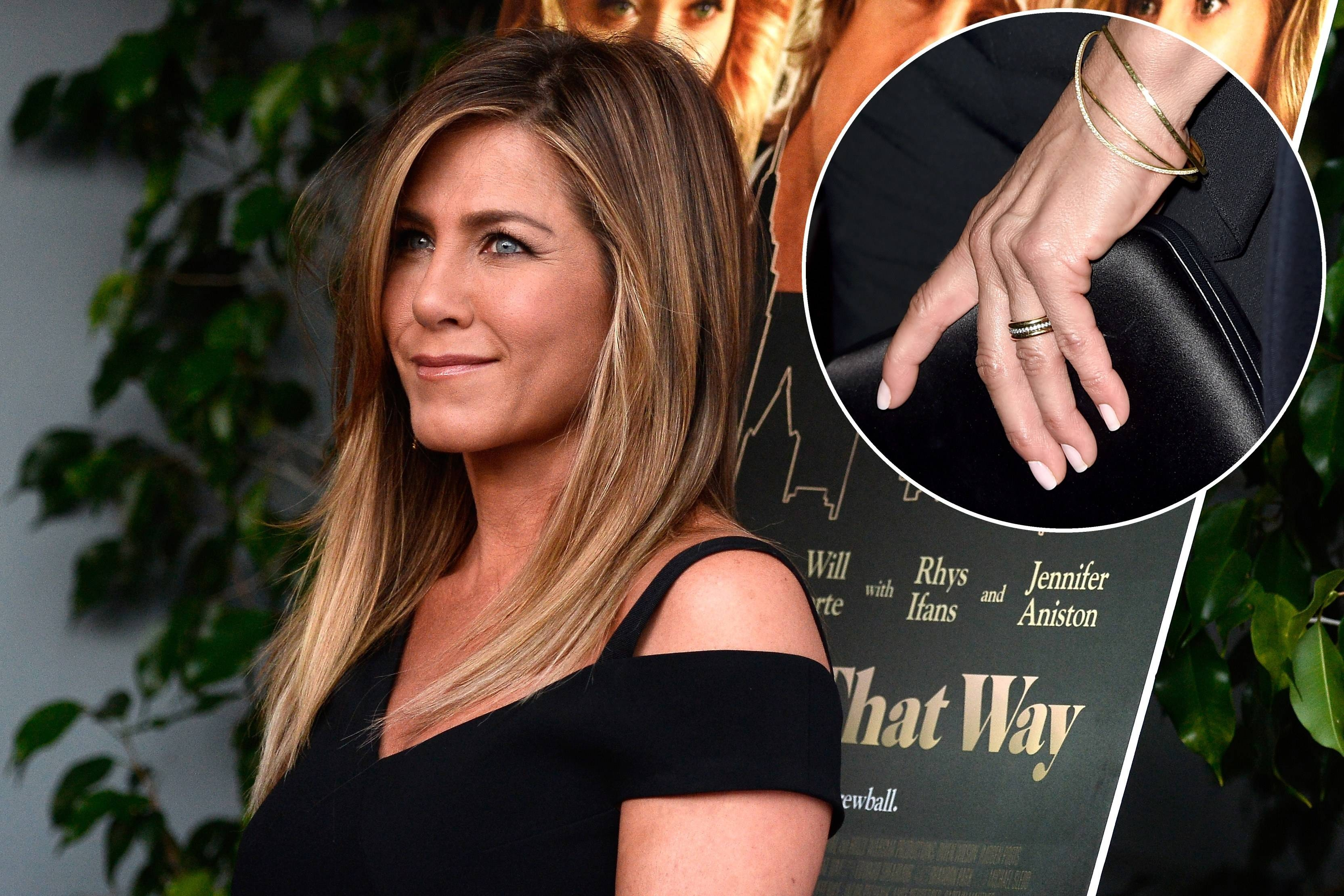 Post Wedding Jennifer Aniston Is Just Like Pre Wedding Jennifer For Jennifer Aniston Wedding Rings (View 13 of 15)