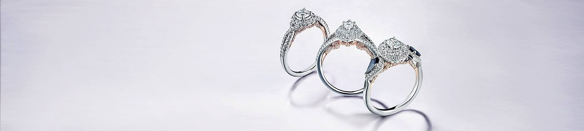 Preset Diamond Engagement Rings – Gabriel & Co. Regarding Preset Engagement Rings (Gallery 15 of 15)