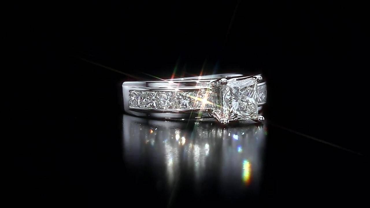 Princess Cut Diamond Ring ( (View 14 of 15)