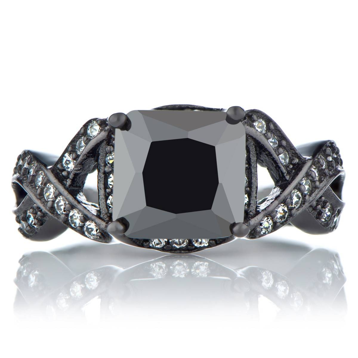 Punk Jewelry | Gothic Jewelry | Punk Engagement Rings Within Gothic Engagement Rings For Women (View 9 of 15)
