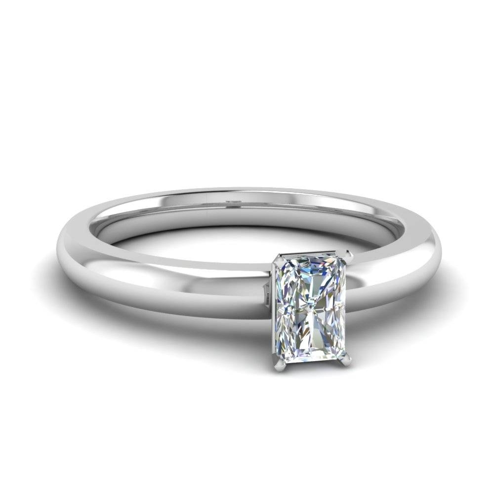 Radiant Cut Engagement Rings | Fascinating Diamonds In Radiant Wedding Rings (View 8 of 15)