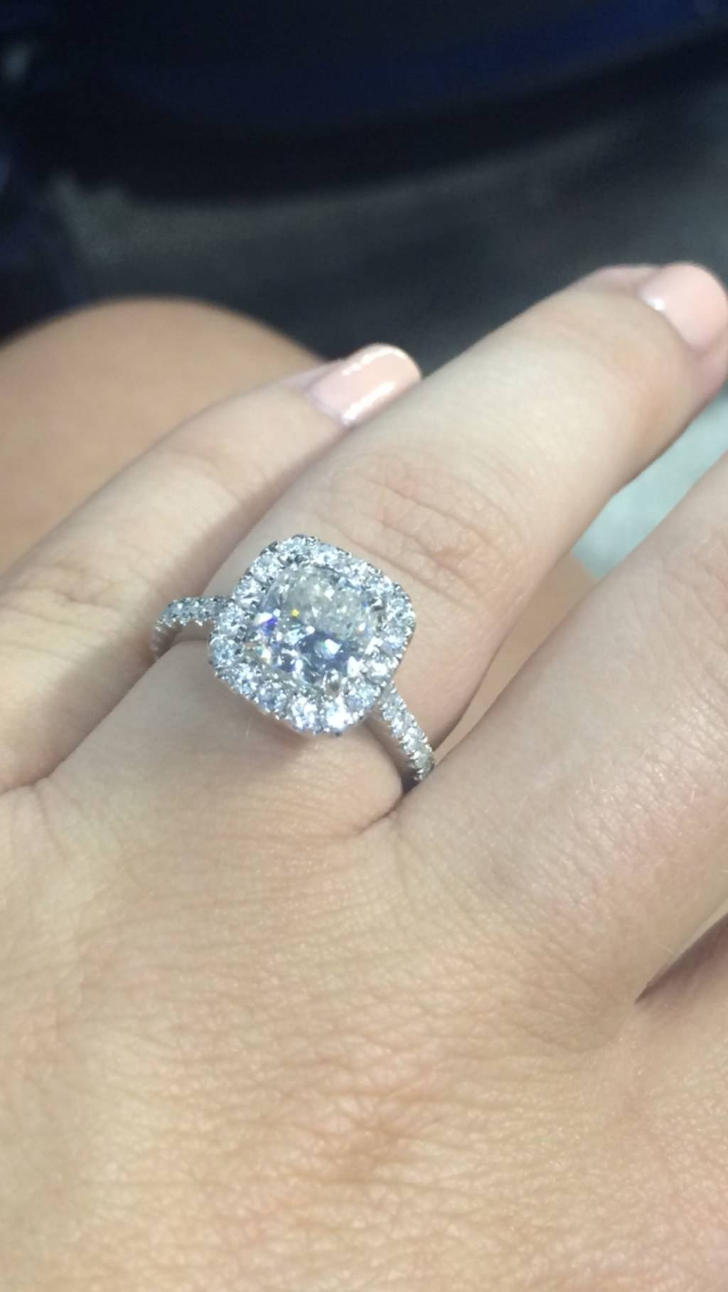 Real Girl Engagement Rings, Proposal Stories; Diamond Engagement Pertaining To Real Diamond Wedding Rings (Gallery 3 of 15)