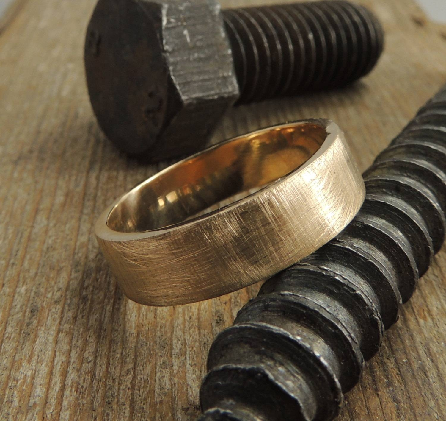 Featured Photo of Mens Handmade Wedding Bands