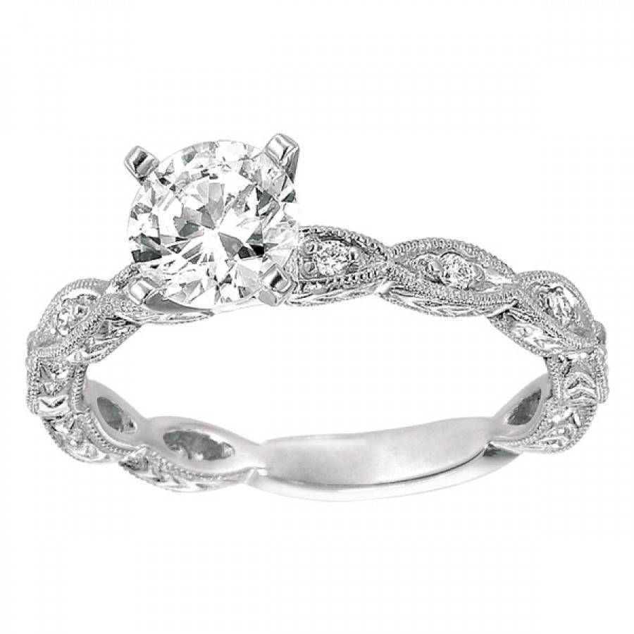 Refreshing Antique Engagement Rings Sydney Tags : Antique Throughout Vintage Wedding Rings Settings (View 11 of 15)