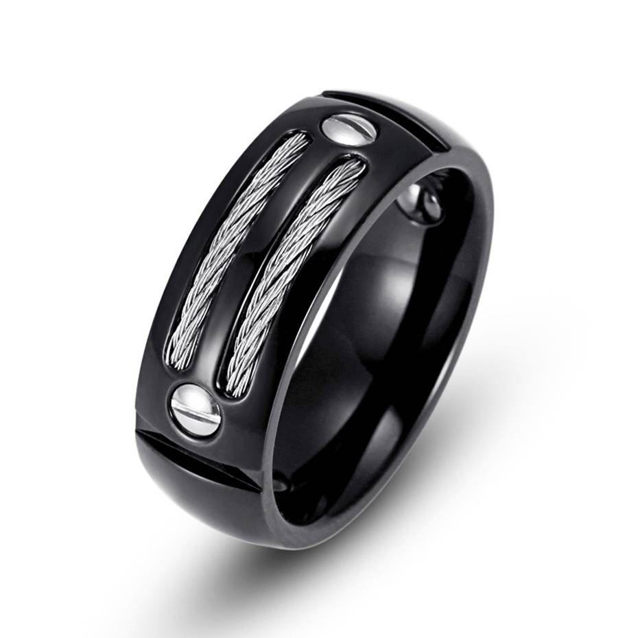 Ring Camo Wedding Rings For Her And Him Radiant Cut Wedding Rings With Regard To Hematite Wedding Bands (View 12 of 15)