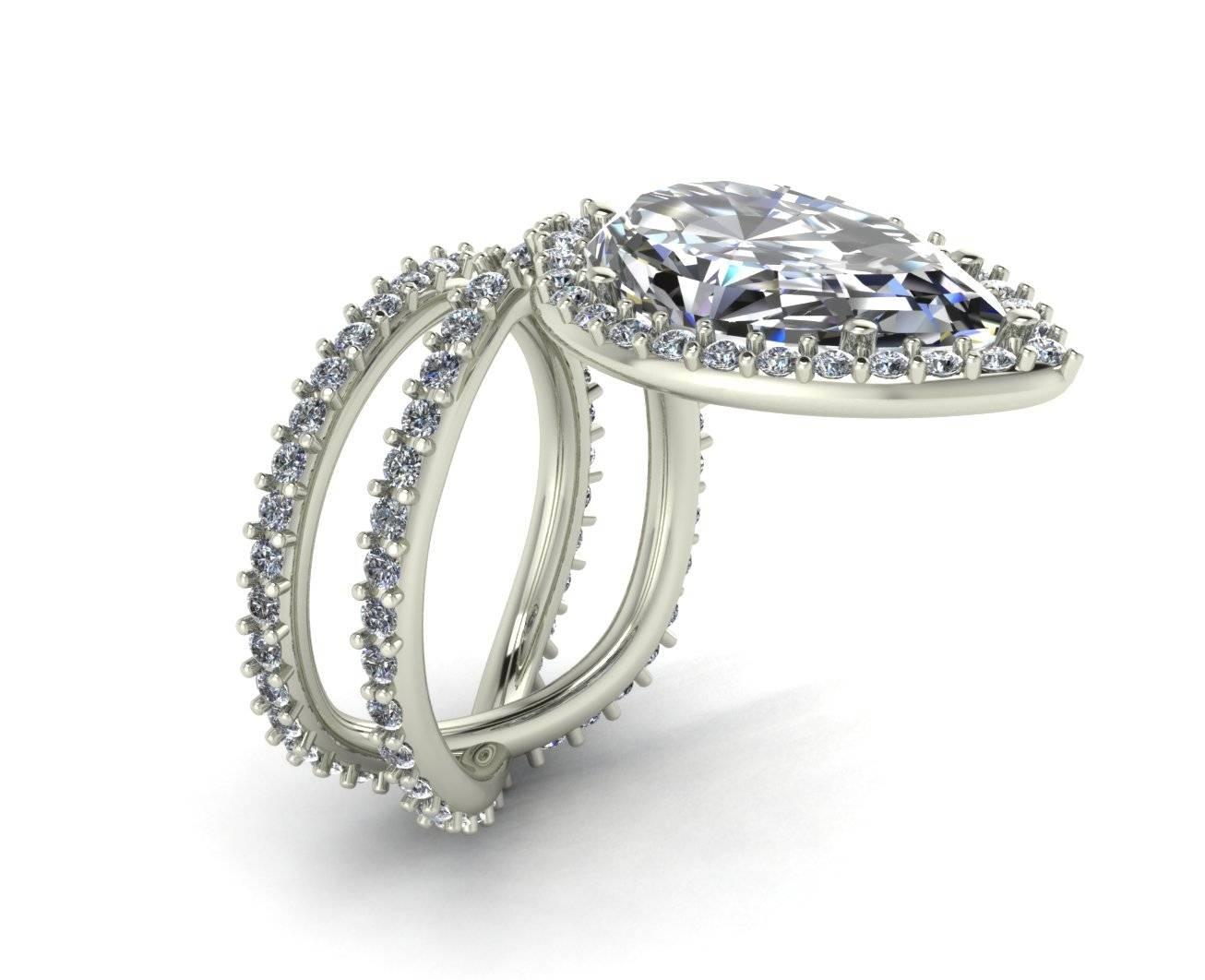 Ring Finger Studio – Custom Engagement Rings & Wedding Bands – Regarding Custom Design Wedding Rings (View 7 of 15)