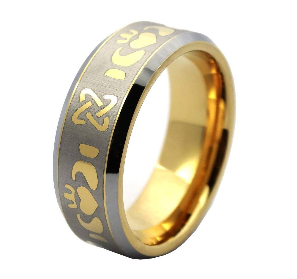 Ring Gun For Sale Picture – More Detailed Picture About 8Mm Pertaining To Mens Claddagh Wedding Rings (View 13 of 15)