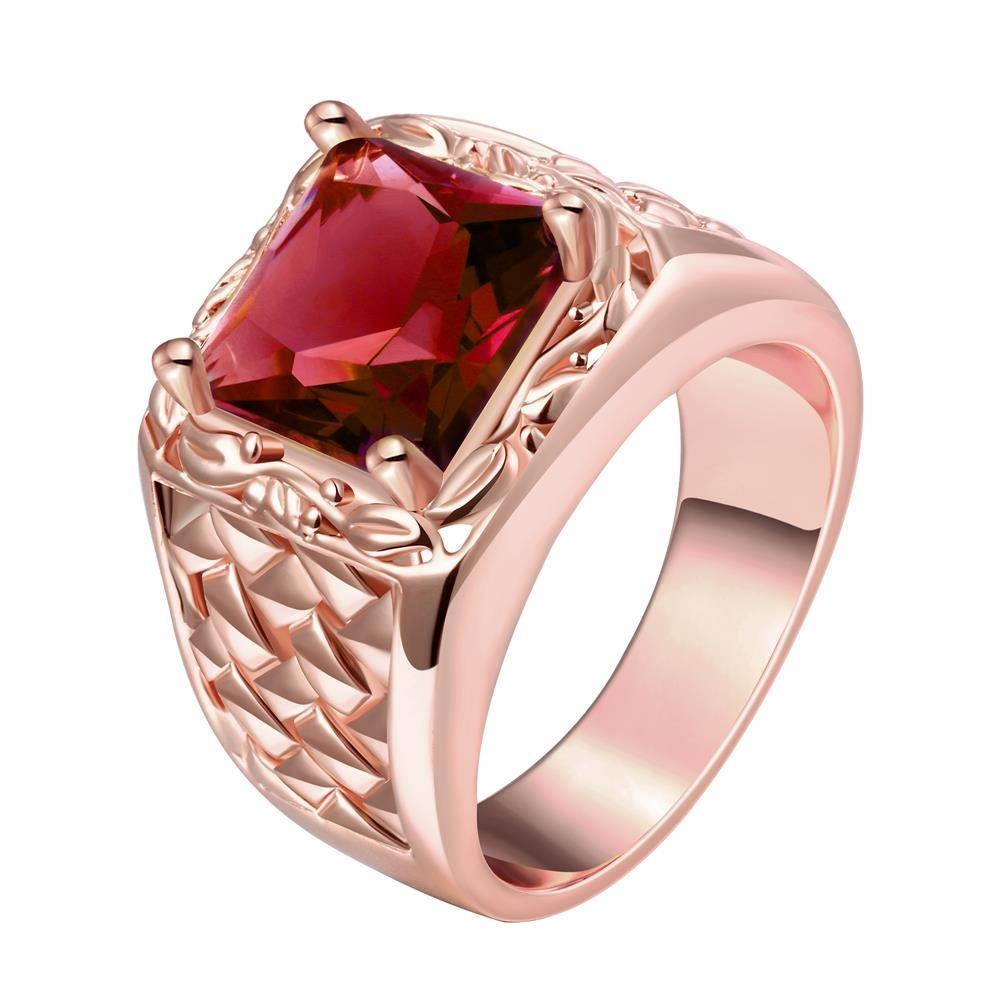 15 Ideas of Men\'s Garnet Wedding Bands