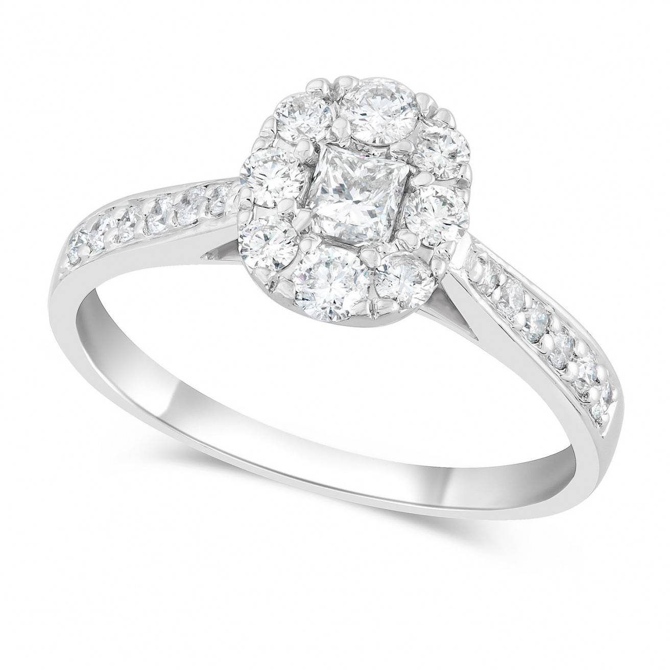 Ring Twisted Engagement Ring With Wedding Band Daniels Jewelry With Regard To Small Diamond Wedding Bands (View 10 of 15)
