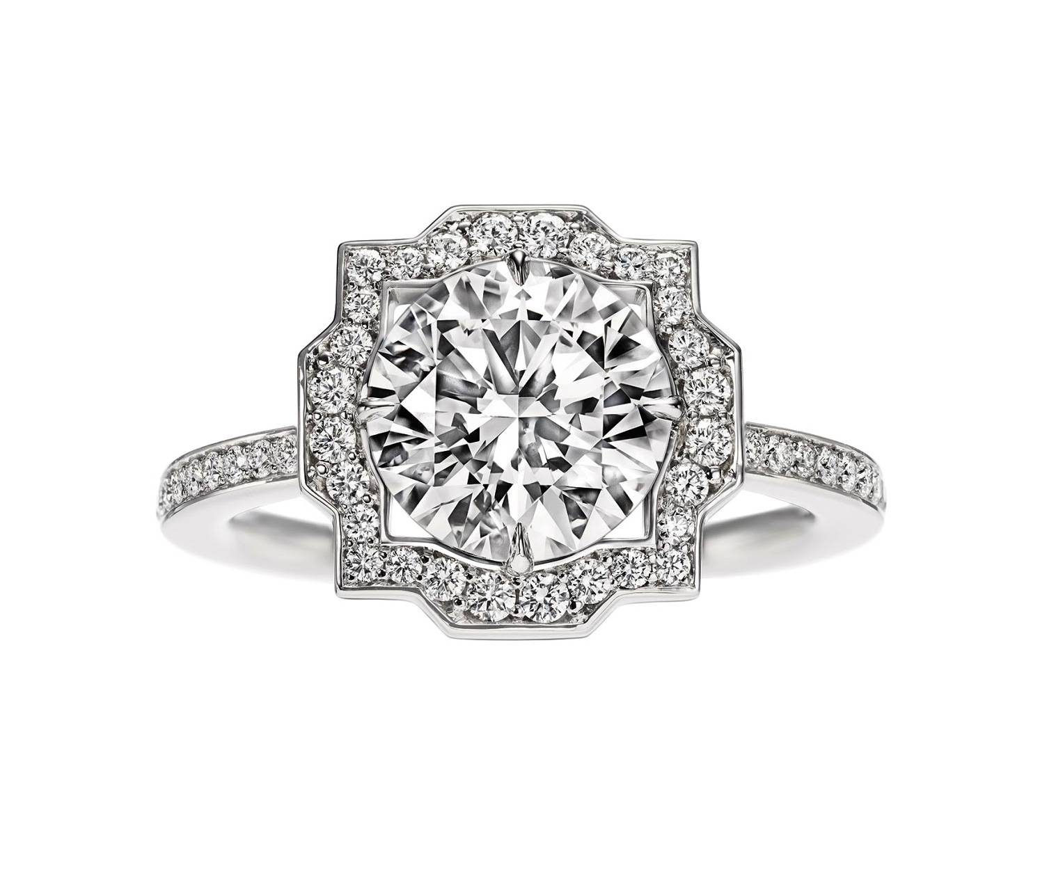 Rock It: 5 Stunning Diamond Engagement Rings – Lifestyleasia Hong Kong In Trinity Diamond Engagement Rings (View 11 of 15)