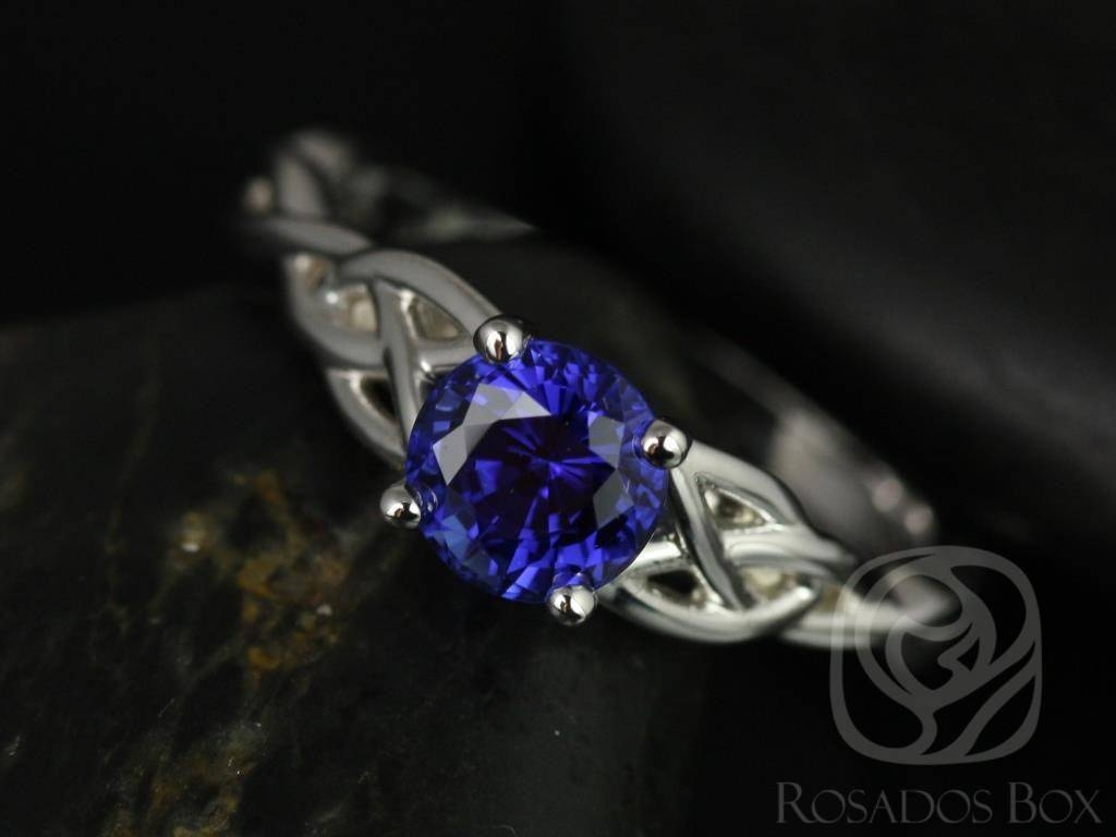Featured Photo of Celtic Sapphire Engagement Rings