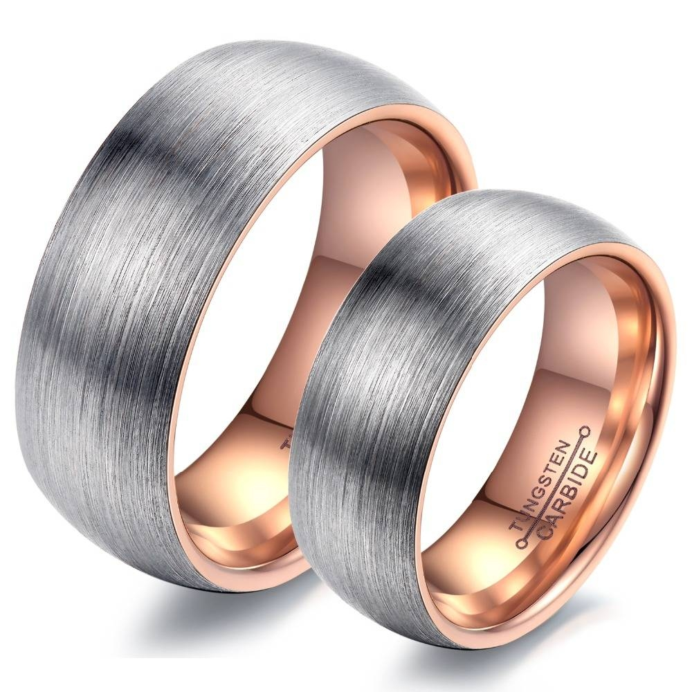 Rose Gold Promise Ring Promotion Shop For Promotional Rose Gold In Couple Rose Gold Wedding Bands (View 11 of 15)