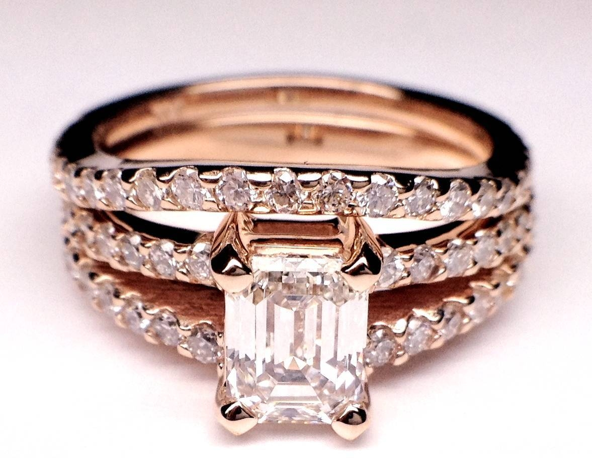 Rose/pink Gold – Engagement Rings From Mdc Diamonds Nyc In Strawberry Gold Wedding Rings (Gallery 5 of 15)