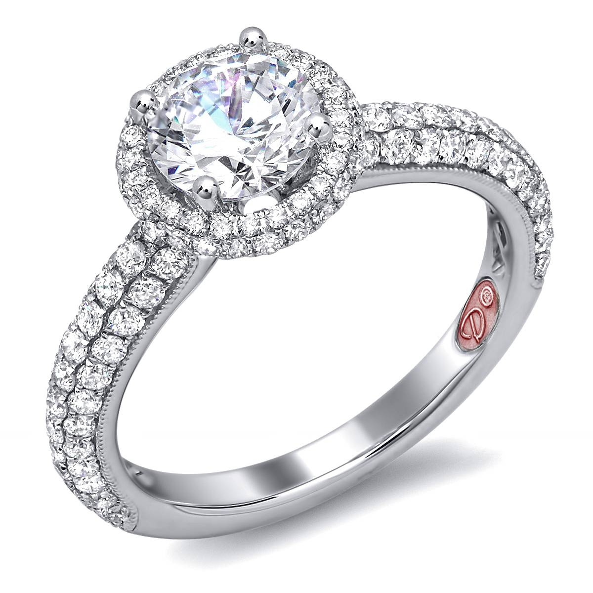 Round | Demarco Bridal Jewelry Official Blog Intended For Wedding Rings With Diamonds All The Way Around (View 8 of 15)
