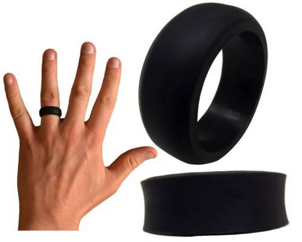 Rubber Military Wedding Rings Throughout Rubber Bands Wedding Bands (Gallery 5 of 15)