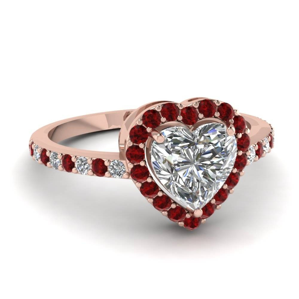 Ruby Engagement Rings | Fascinating Diamonds With Regard To Ruby Engagement Rings For Women (View 8 of 15)