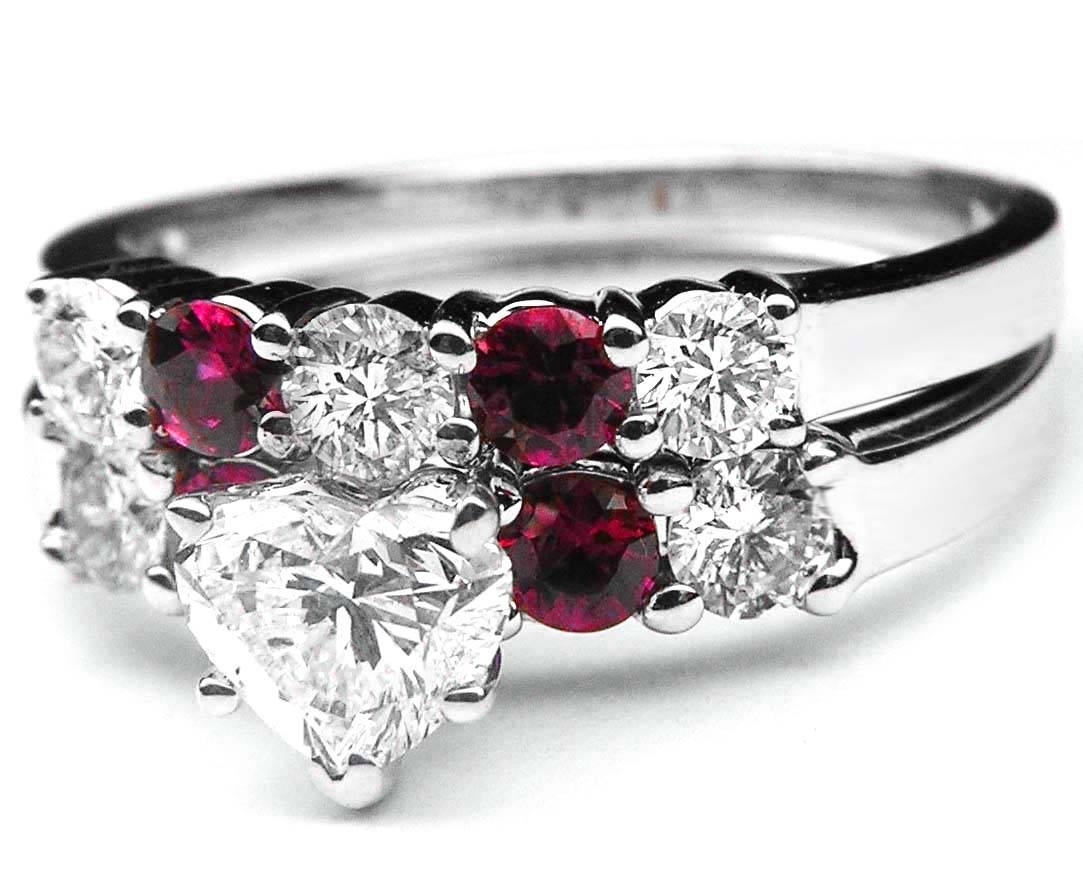 Ruby – Engagement Rings From Mdc Diamonds Nyc In Diamond And Ruby Engagement Rings (View 14 of 15)