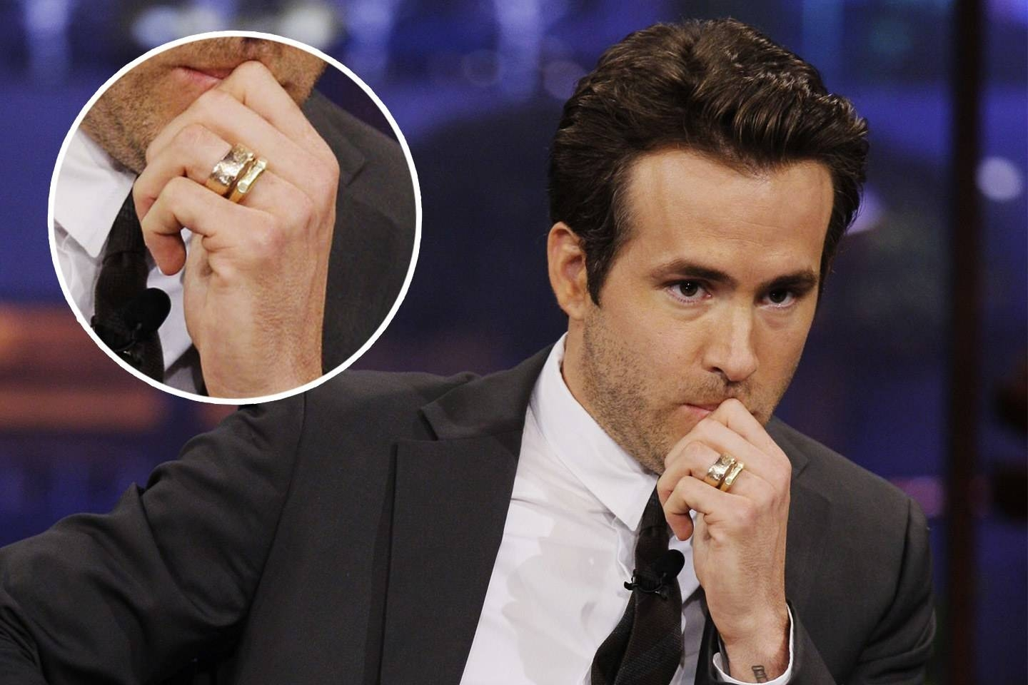 Ryan Reynolds, Chris Hemsworth, And More Male Stars Whose Wedding In Celebrity Mens Wedding Bands (View 2 of 15)