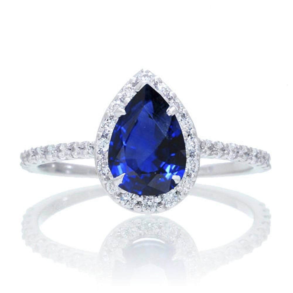 Sapphire Engagement Ring (View 10 of 15)