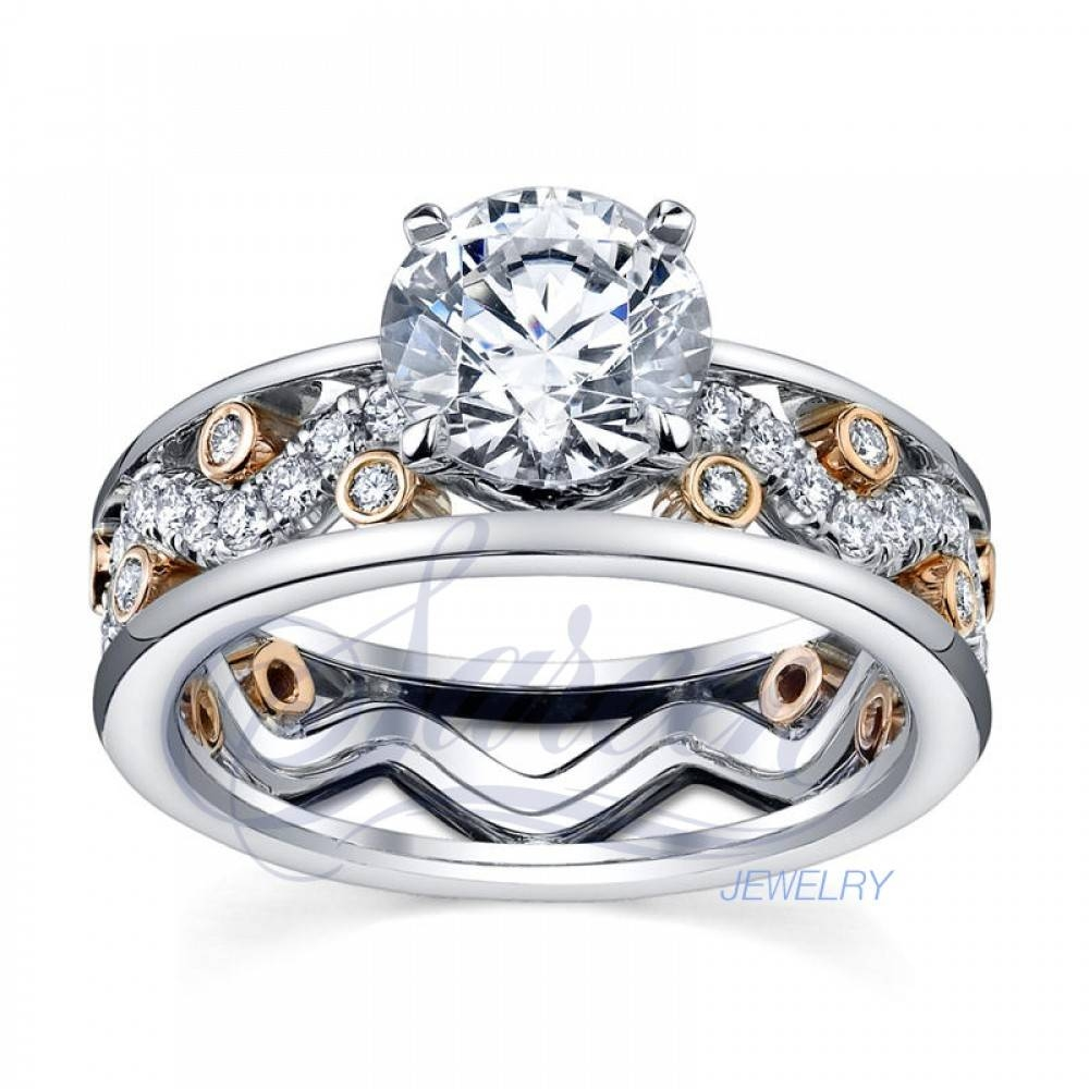 Sareen Irish Rose Ladies Diamond Ring Regarding Irish Diamond Engagement Rings (View 13 of 15)