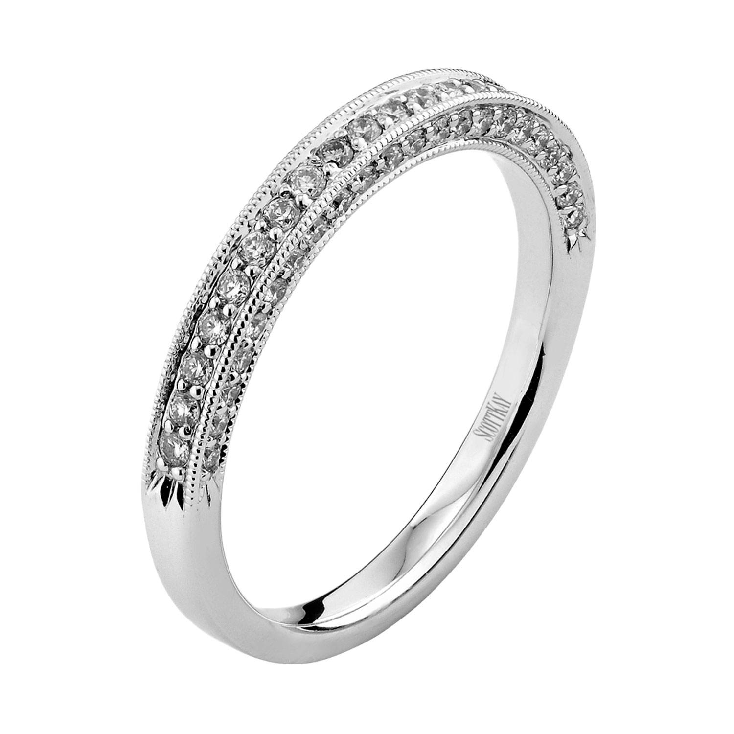 Featured Photo of Scott Kay Tiara Wedding Bands