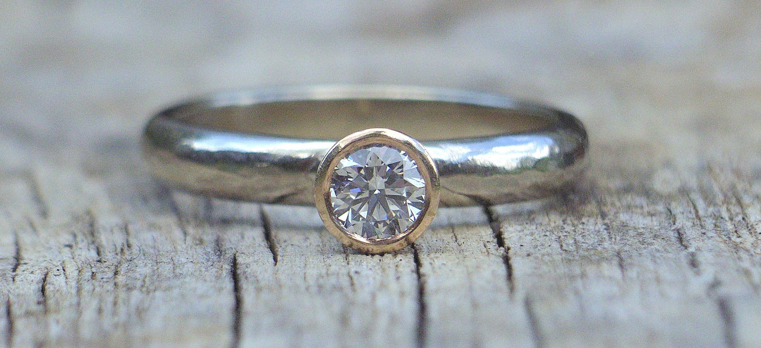 Sea Glass Jewellery, Handmade Ethical Wedding Rings, Fairtrade – Home In Hand Made Engagement Rings (Gallery 5 of 15)