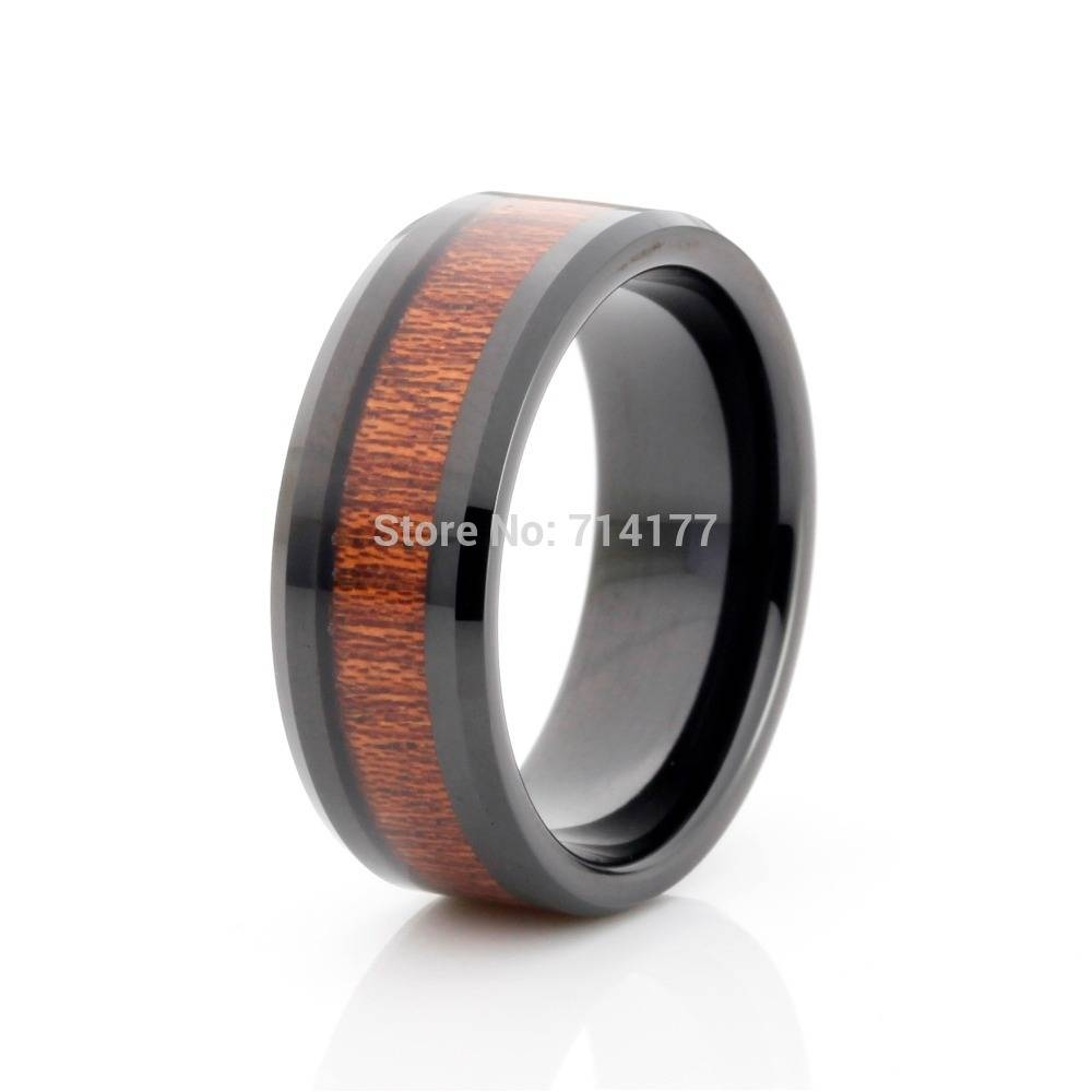 Search On Aliexpressimage Intended For Horn Inlay Titanium Wedding Bands (View 10 of 15)
