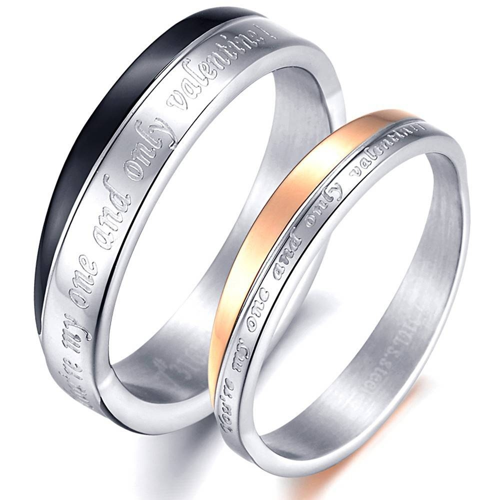 Search On Aliexpressimage Throughout Men's And Women's Matching Wedding Bands (View 8 of 15)