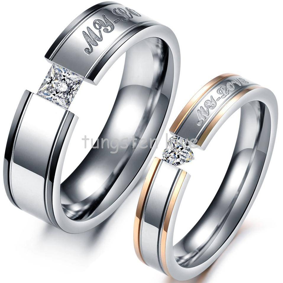 Search On Aliexpressimage With Regard To Male And Female Matching Engagement Rings (View 11 of 15)