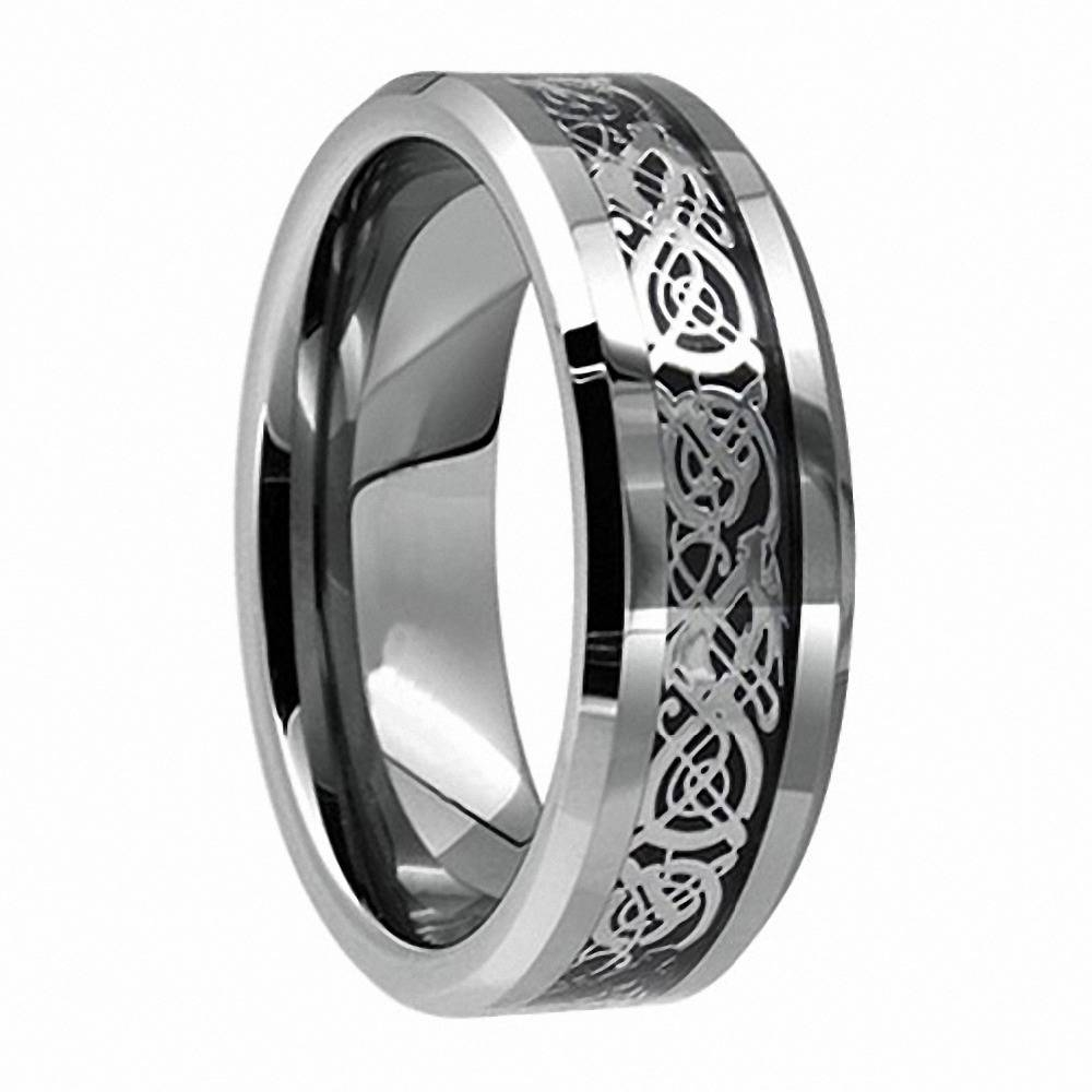 Search On Aliexpressimage With Regard To Titanium Lord Of The Rings Wedding Bands (View 18 of 21)