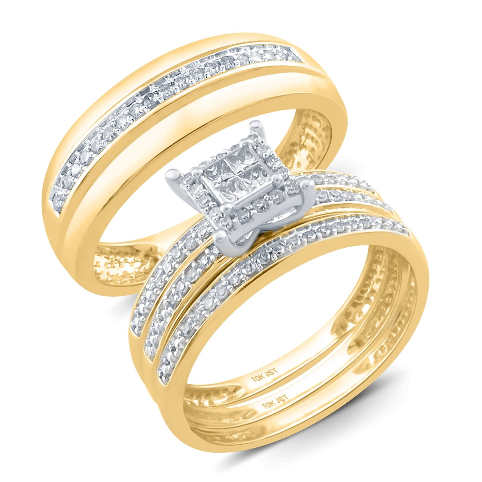 Sears Jewelry Gold Diamond Rings | Wedding, Promise, Diamond Inside Sears Engagement Rings (View 6 of 15)