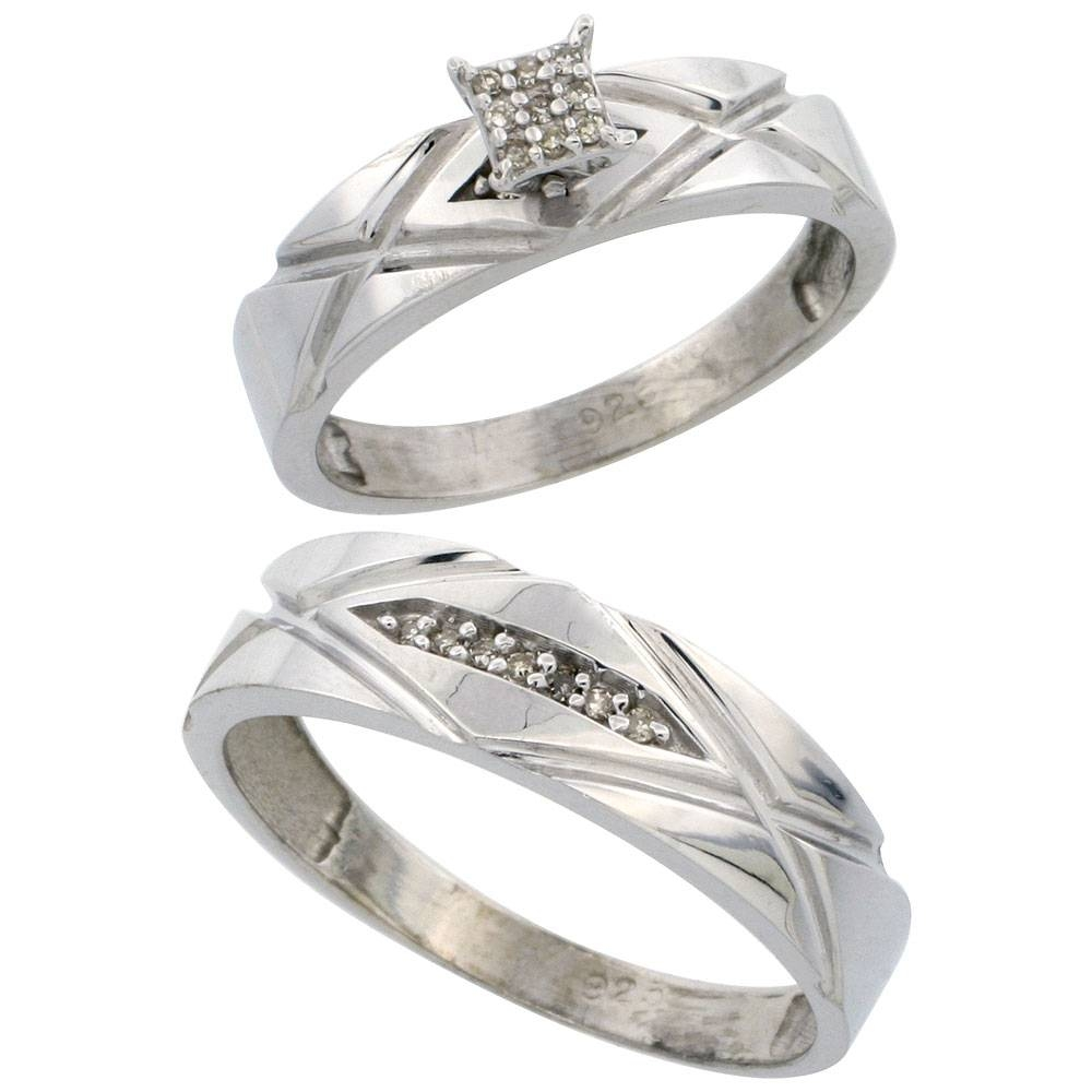 Selecting The Perfect Wedding Ring Sets For Him And Her Throughout Engagement Ring Sets For Him And Her (View 12 of 15)