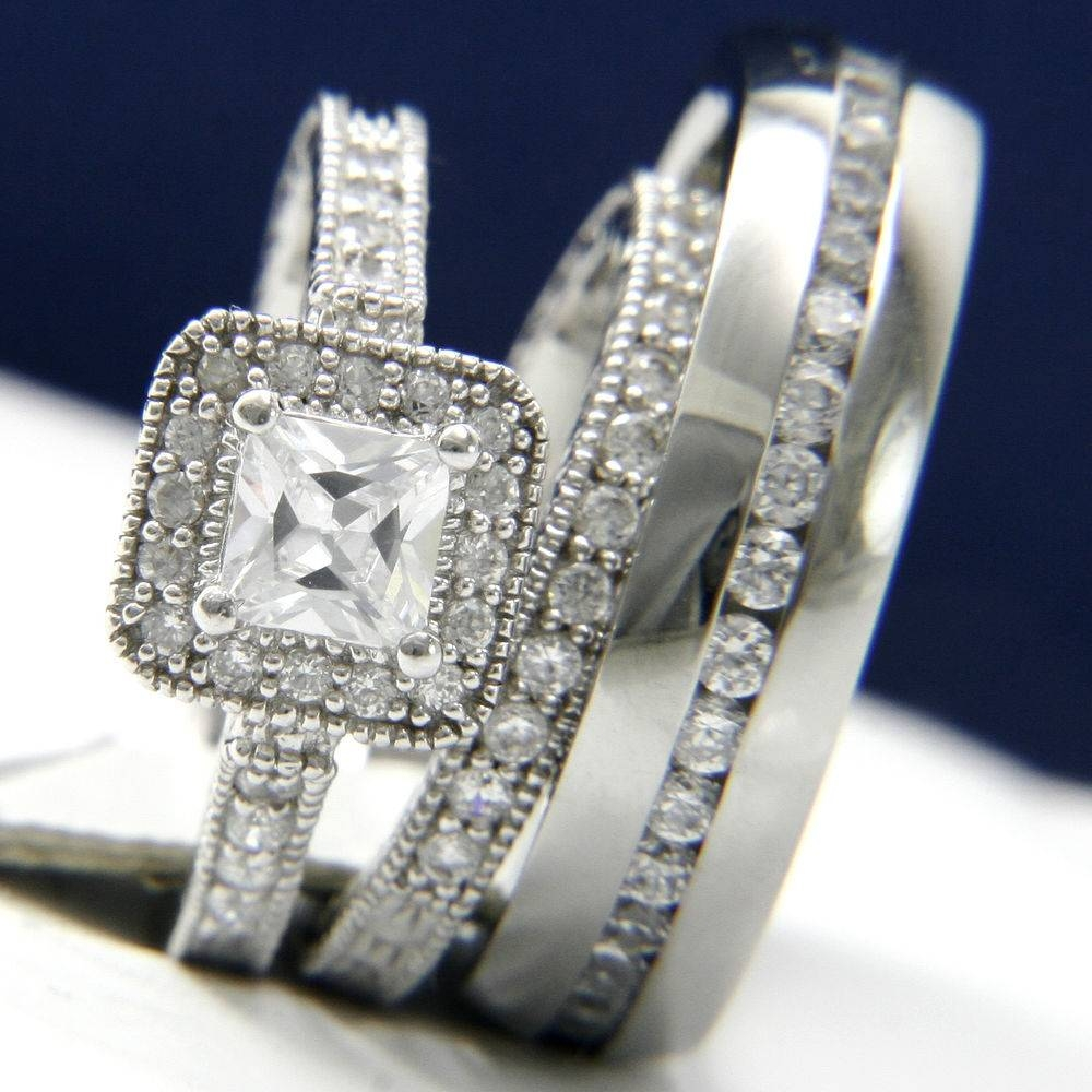 Several Ideas Of His And Hers Wedding Rings | Wedding Ideas With Regard To His And Her Wedding Bands Sets (View 13 of 15)