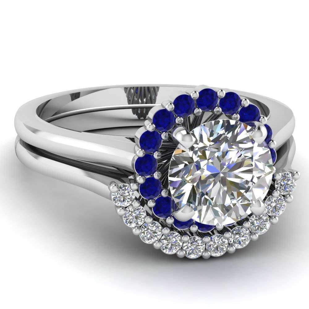 Several Things In Sapphire Wedding Bands That You Should Know Inside Diamond And Sapphire Wedding Rings (View 11 of 15)