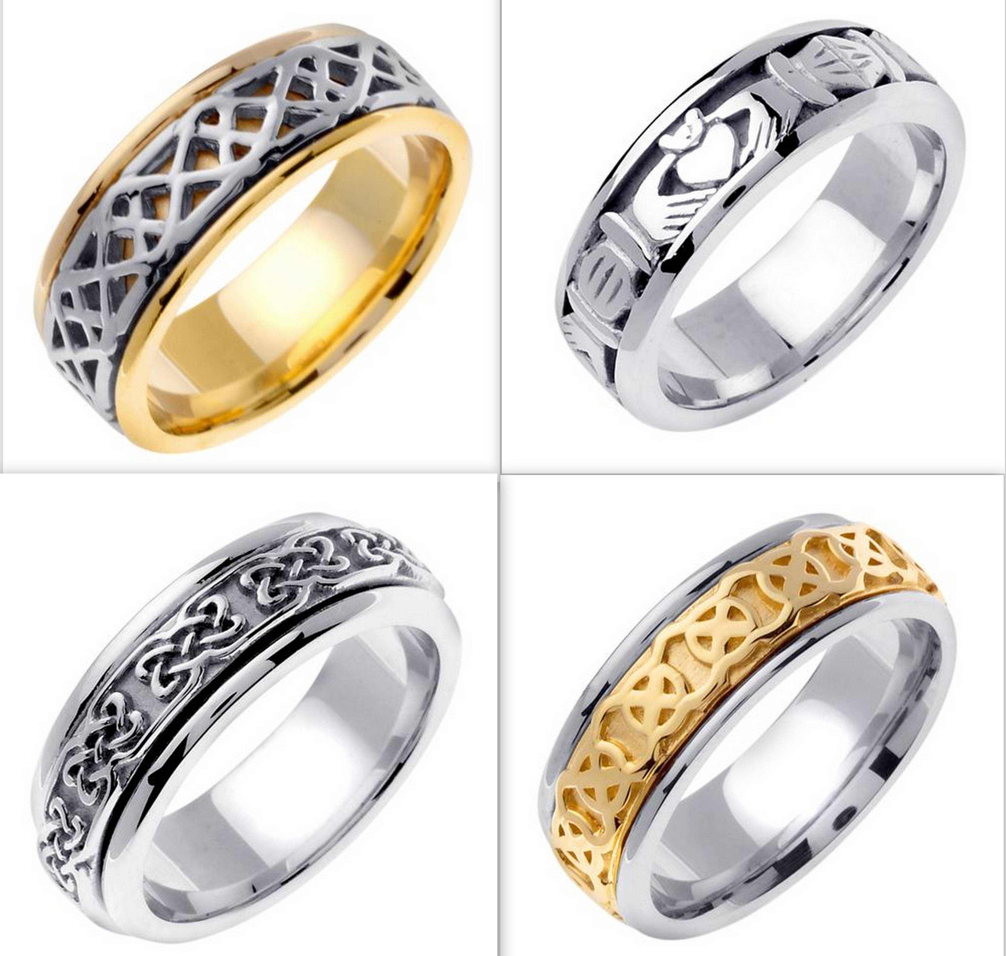 Several Things To Select Irish Wedding Rings | Wedding Ideas Within Irish Mens Wedding Bands (View 9 of 15)