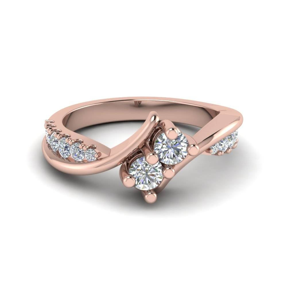 Shop For Latest Twist & Swirl Engagement Rings At Fascinating Diamonds With Spiral Engagement Rings (View 11 of 15)