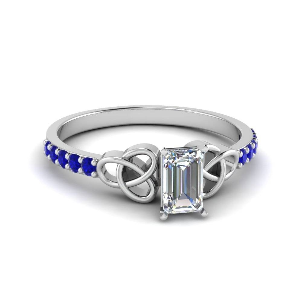 Shop For Stunning Small Sapphire Engagement Rings | Fascinating For Sapphire Celtic Engagement Rings (View 10 of 15)