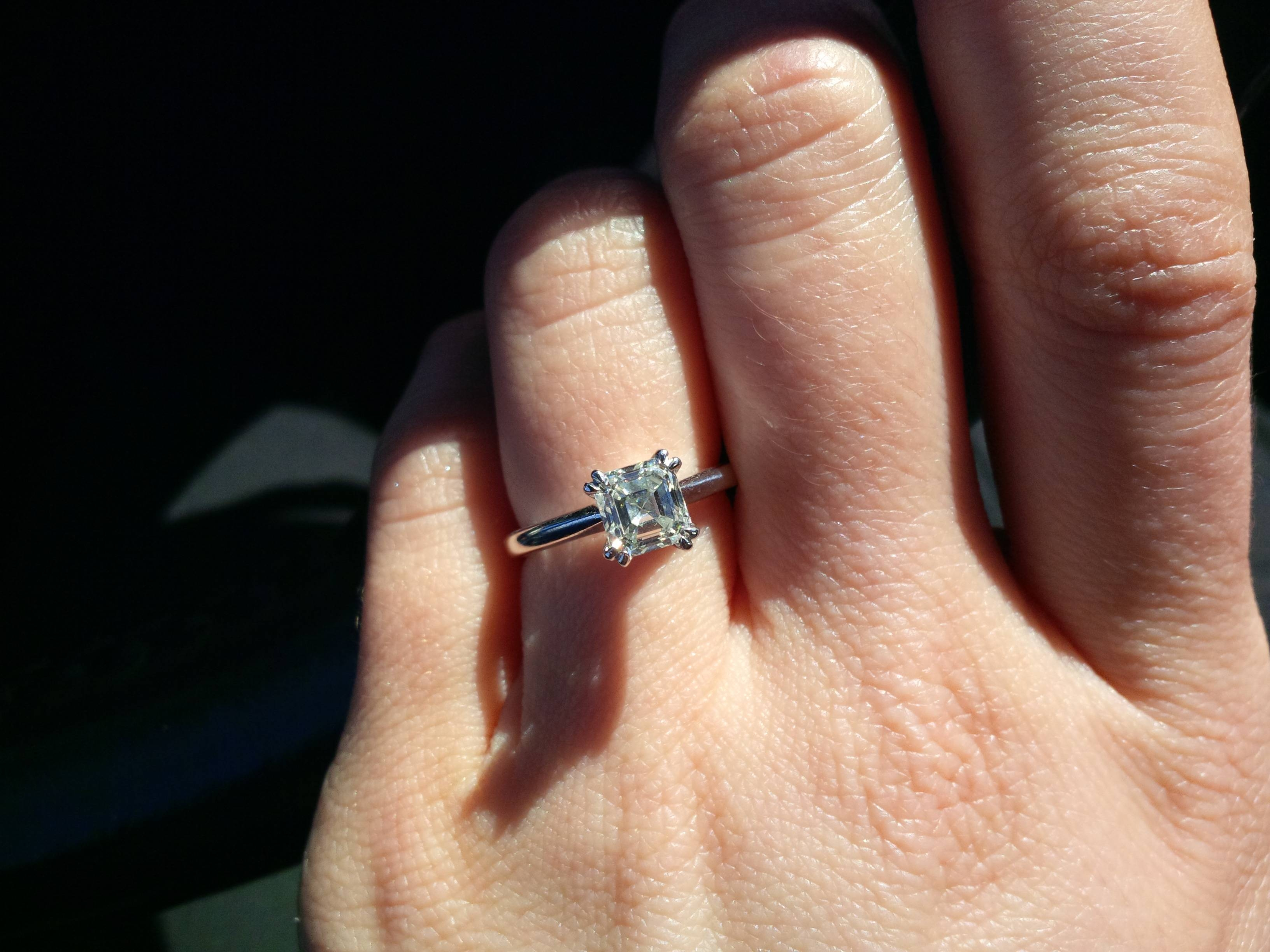 Show Me Engagement Rings On  (View 12 of 15)