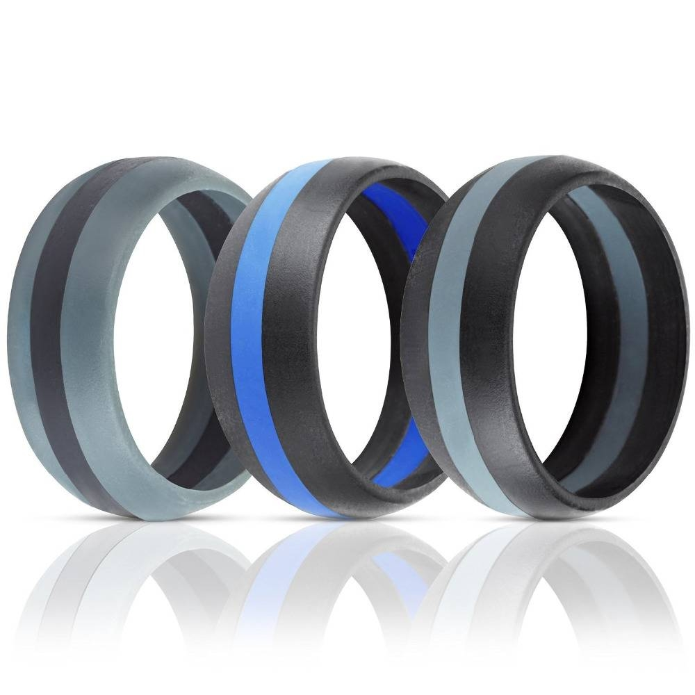 Silicone Wedding Band / Engagement Ring – Buy Silicone Wedding Inside Silicone Wedding Bands (View 8 of 15)