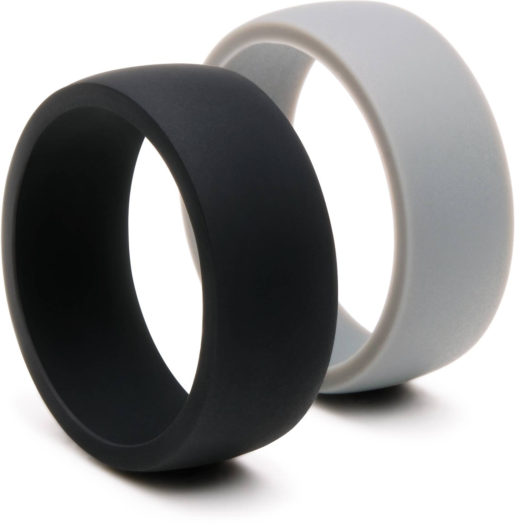 Silicone Wedding Ring, Silicone Wedding Band For Men, 2 Rings Pack For Silicone Wedding Bands (View 7 of 15)